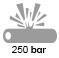 250 bar